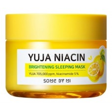 Ночная маска для лица с экстрактом юдзу Yuja Niacin 30 Days Miracle Brightening Sleeping Mask 60мл