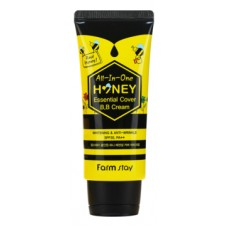 BB крем для лица All-In-One Honey Essential Cover Cream SPF 30PA++ 50г