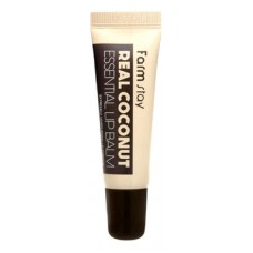 Бальзам для губ с маслом кокоса Real Coconut Essential Lip Balm 10мл